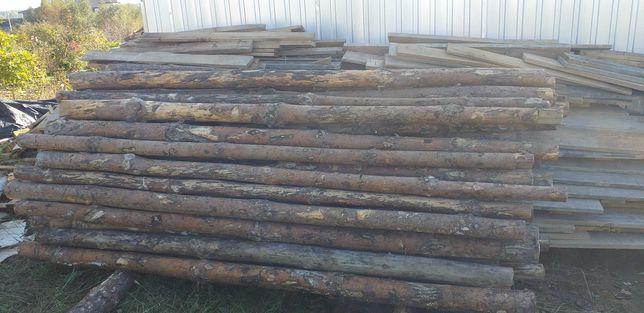 Deski szalunkowe stemple budowlane