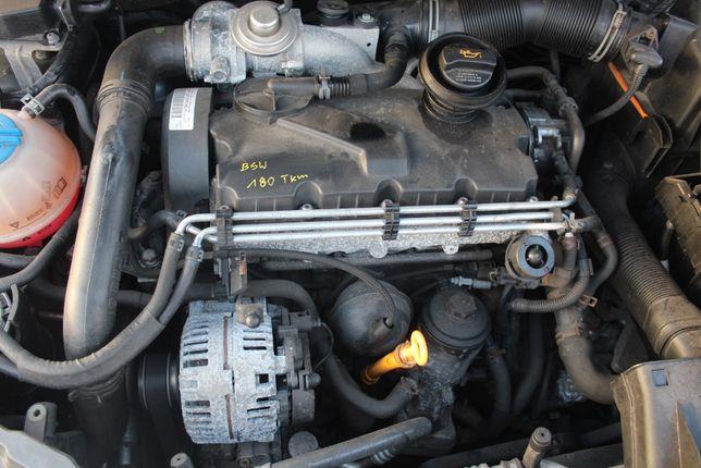 Silnik Skoda FABIA 2 II 1,9TDi BSW kompletny