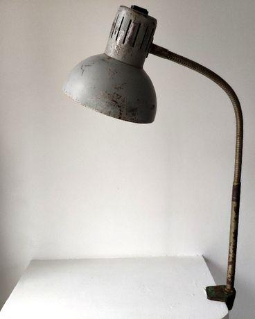 Lampa biurkowa kreślarska ZAOS lata 60-te POLSKA sprawna