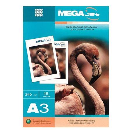 Фотобумага для цветной струйной печати MEGA Jet Premium Glossy, глянце