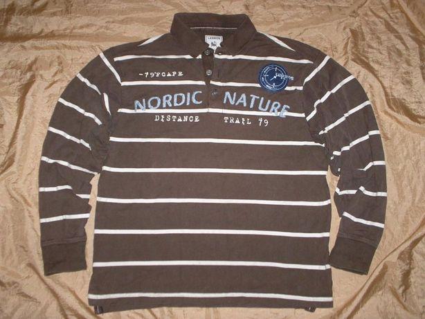 Брендовый свитер лонгслив поло свитшот Lerros