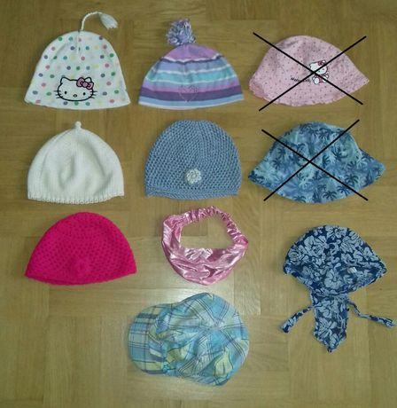 4-8 lat H&M czapeczka jesienna wiosenna + letnia szydełkowa czapka