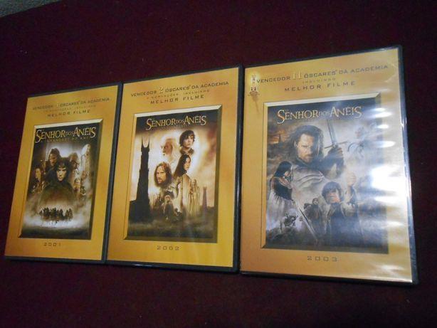 O Senhor dos anéis/Conjunto de 3 DVDs