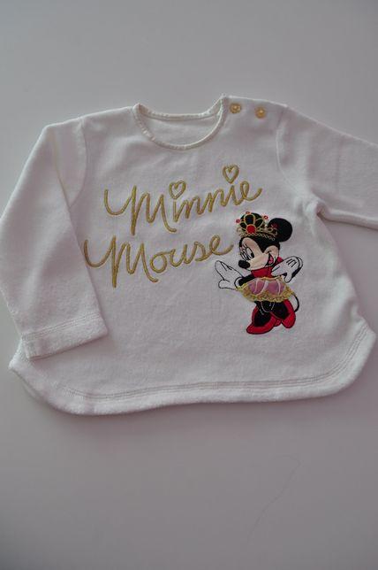 Bluzka z Minnie 6-9m r. 74