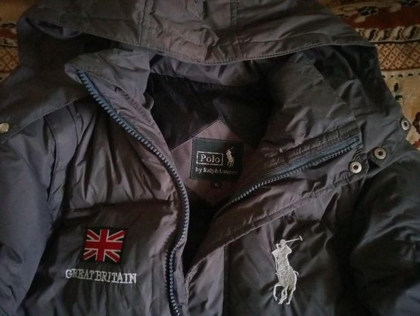 Куртка пуховик Polo хl детская