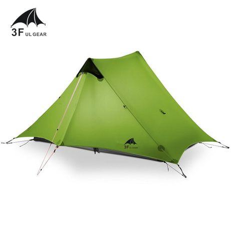 """Палатка ульталегкая """"LanShan 2"""" от фирмы 3F UL GEAR зеленая"""