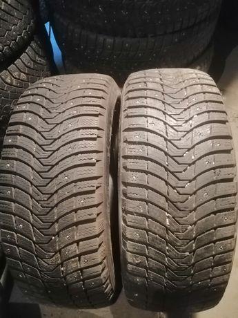 Пара шин 235.55R17 Michelin шипованые 7.5 мм