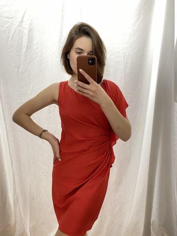 Красное платье oasis