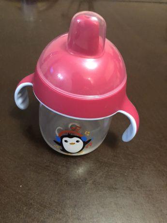 Чашка - непроливайка avent phillips 200 ml