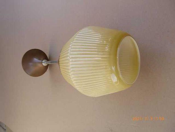 żyrandol, lampa PRL
