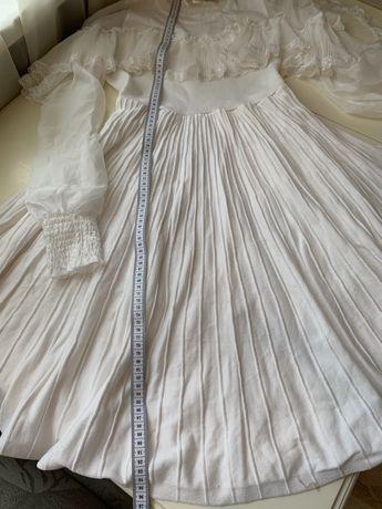 Платье шифон трикотаж
