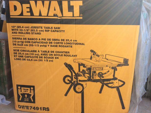 Церкулярка Столярська DeWalt
