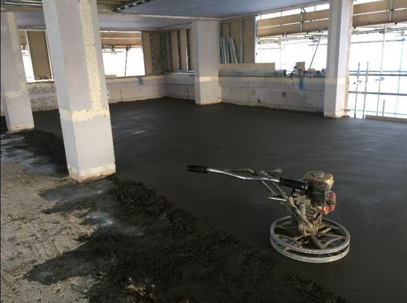 Стяжка пола сухая, машинная, бетонные полы. Лучшая цена Днепр - изображение 1