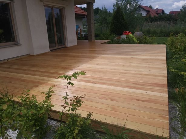 Tarasy drewniane/Zadaszenia