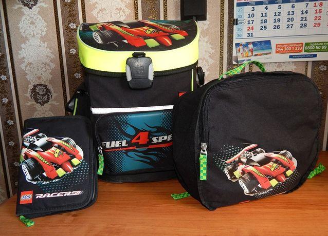 Школьный ранец LEGO Racers + сумка + пенал