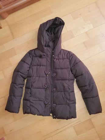 Płaszcz brązowy United Colors of Benetton rozmiar 130
