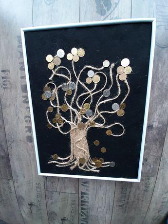 Handmade,drzewko szczęścia, bransoletki,zakładka do książki, zawieszka