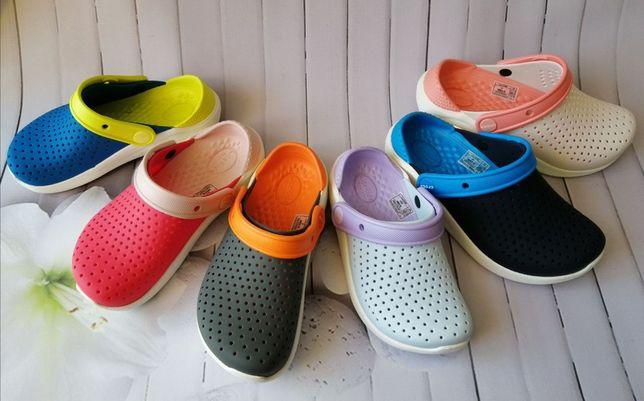 Детские кроксы на мальчиках девочку Crocs literide. Купить сабо Киев !