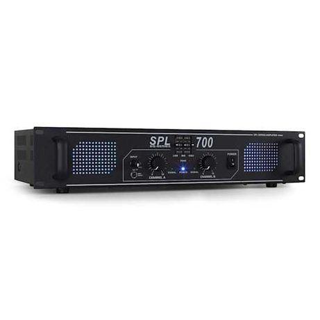 Wzmacniacz nagłośnieniowy Skytec DJ PA 2000W Equalizer LED