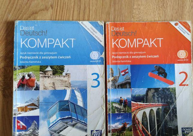 Das ist Deutsch! Kompakt.. podr z ćw.. 2 i 3.. +  CD.. wyd. Nowa Era