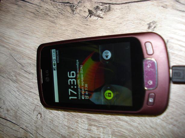 телефон LG P 500