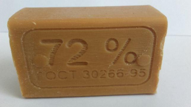 Szare naturalne białoruskie mydło 72% 200g