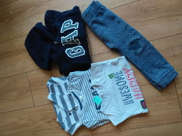 Ubranka dla chłopca r 86 -92