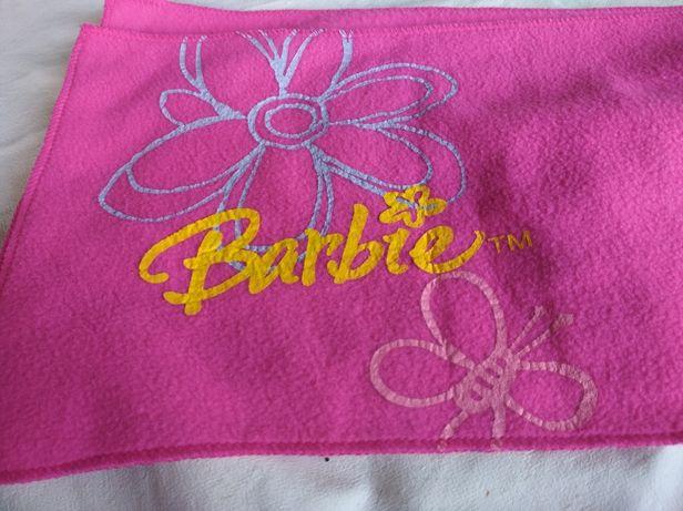 Cachecol Barbie rosa