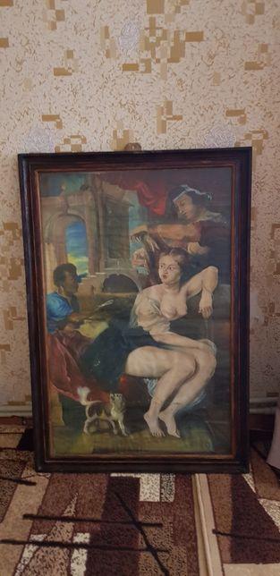 "Картина маслом на холсте ""Версавия """
