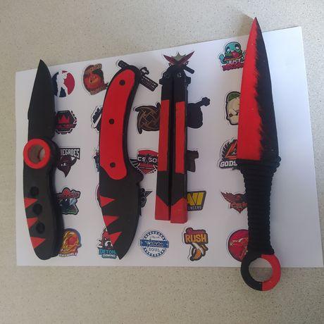 4 деревянных ножа Стендофф2 КС ГО