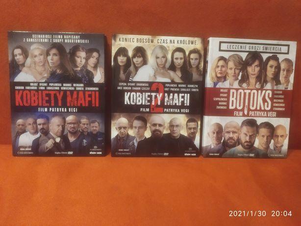Kobiety mafii 1 i 2 oraz Botoks DVD 3 filmy