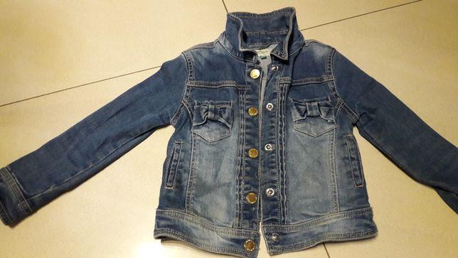 MAYORAL kurtka jeansowa 6-7 lat dziewczynka j. NOWA
