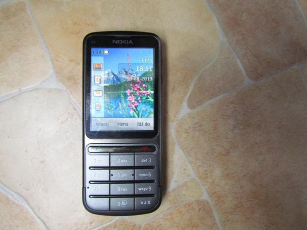Nokia C3-01 Touch and Type bez simlocka