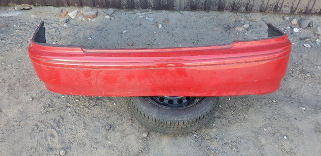 Honda Accord VI zderzak tył tylny czerwony przedliftowy r502