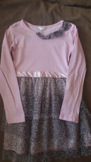 Primark piękna sukienka tiul roz 116/122 polecam