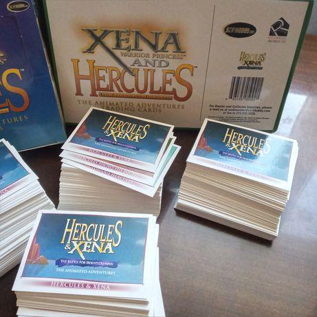Полный сет коллекционные карточки Xena & Hercules Ксена принцесса-воин