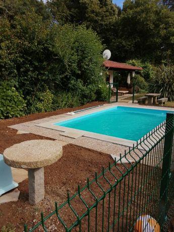 Casa do Moinho rural Piscina e Mar a 4 kms- Espinho - 10 pessoas