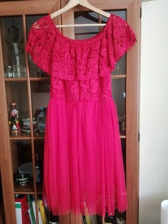 Sukienka z koronka L