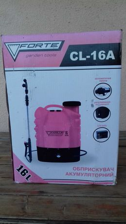 Обприскувач акумуляторний Forte CL-16A. Ціна 862 грн.