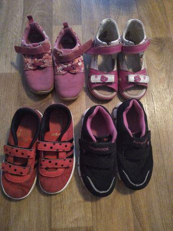 Обувь на девочку25 -27р