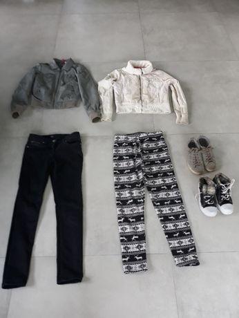 _Markowy zestaw_paka dla dziewczynki 8-10 lat_ 2 kurtki H&M DIVERSE_
