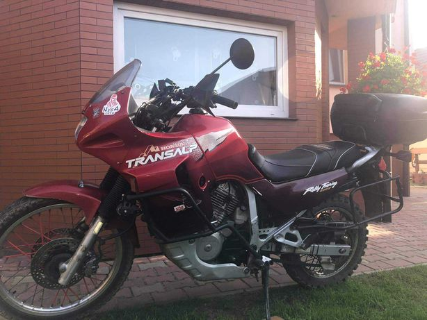 Sprzedam lub zamienię Hondę transalp 600