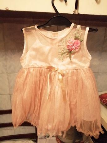 Платье классное на девочку 3-6 мес