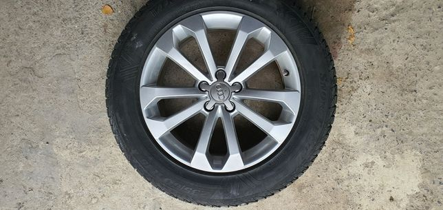 Audi Q5 R18 диски +зимняя новая резина