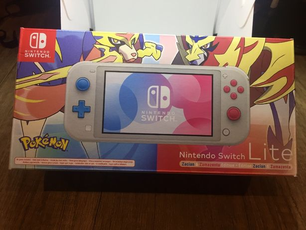 Consola Nintendo Switch lite Pokémon Zacian & Zamazenta NOVA c/fatura