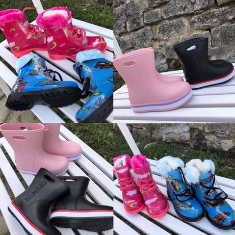 Резинові чоботи резиновые сапоги