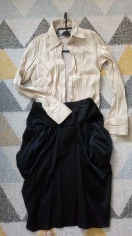 Spódnica i koszula M