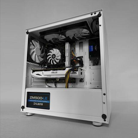 Игровой компьютер ПК i5 9400f, GTX 1060, 16gb RAM, 240gb SSD
