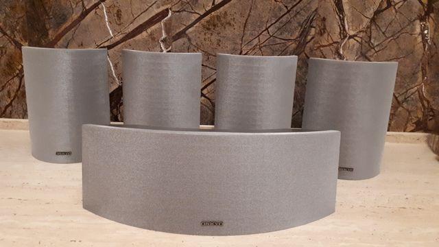 Zestaw głośników do kina domowego ONKYO 120W 5 sztuk stan idealny