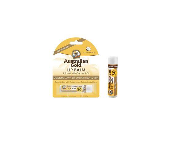Australian Gold Lip Balm SPF30 4,2gr - Coconut Oil